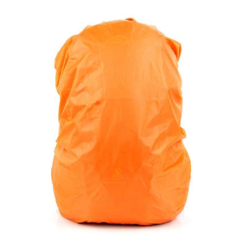 ผ้าคลุมกระเป๋า กันน้ำ45-65 ลิตร-สีส้ม