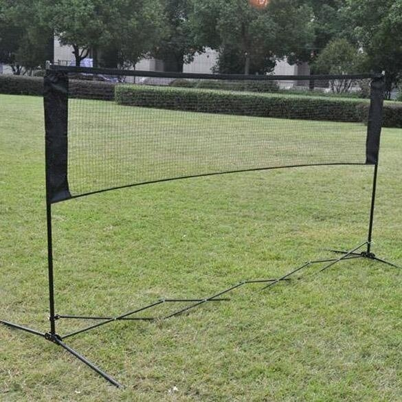5.9m*0.79m Professional Training Square Mesh Badminton Net Darkred - intl