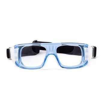 Anti Impact Outdoor Sunglasses Sports Glasses Myopia Anti Fog Basketball Glasses Football Goggles (Blue)