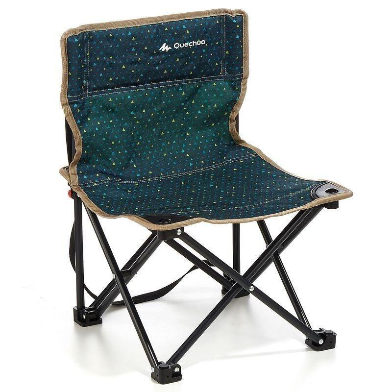 เก้าอี้เท้าแขน แบบพับได้ สำหรับตั้งแคมป์ ปีนเขา เดินป่า ARPENAZ ...
