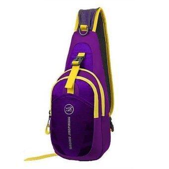 Bag7 กระเป๋าคาดอก D-02N (Purple)
