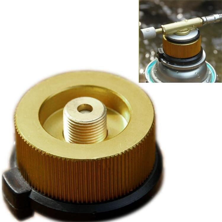 Beautymaker Outdoor Burner Conversion Head Stove Tank Gas Bottle Adapter Stove Connector - intl