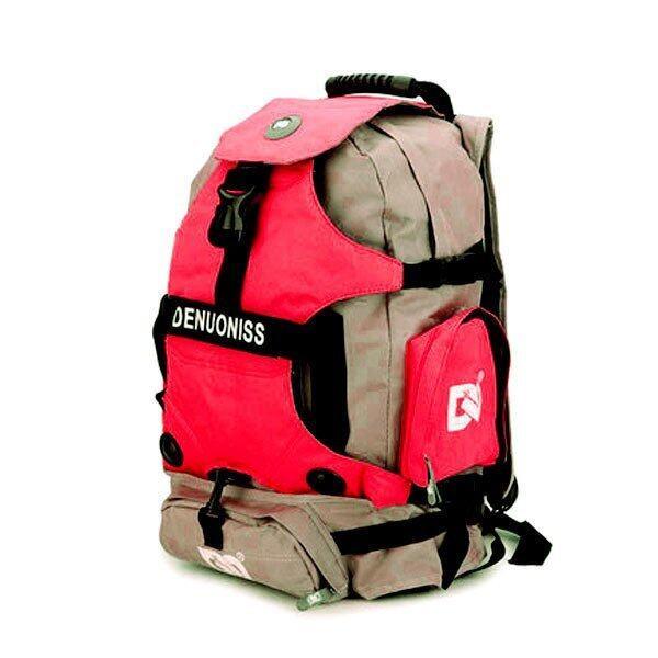DENUONISS กระเป๋าใส่รองเท้าสเก็ต (สีแดง)