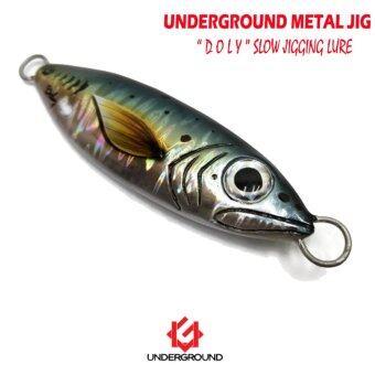 FL Slow Jigging Doly  150g. เหยื่อจิ๊ก 3D ทรงลูกปลาทู