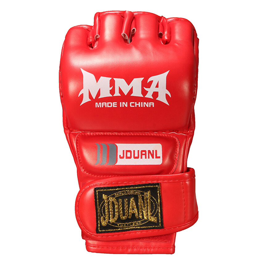 FLY Leather Gel Tech Mma Grappling Gloves Fight Boxing Punch Bagtraining Red - intl ...