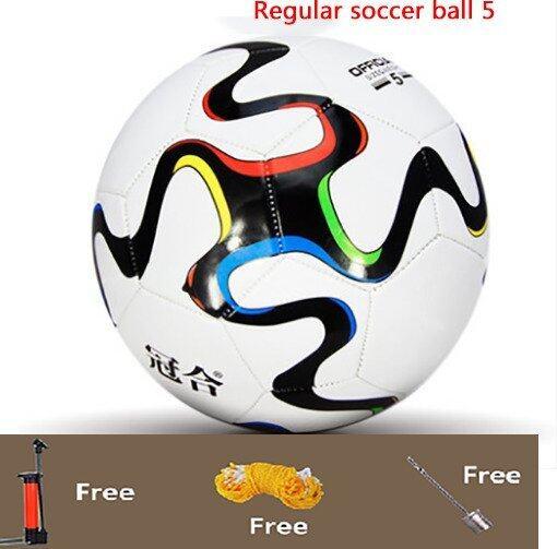 Football Soccer Regular soccer ball 5 Outdoor soccer Training football - Intl ...