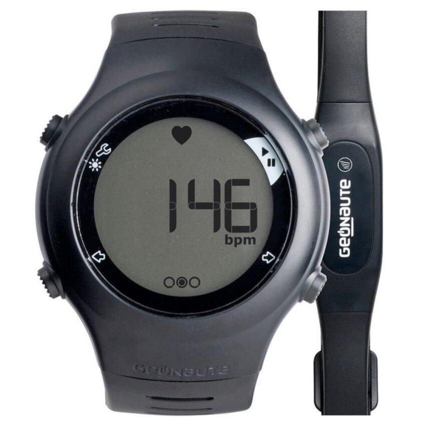 แนะนำ GEONAUTE นาฬิกาวัดชีพจร Heart Rate/วัดอัตราการเต้นของหัวใจ รุ่นONRHYTHM 110 พร้อมสายรัดหน้าอก ลดราคา