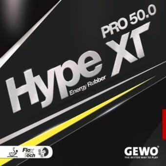 GEWO ยางปิงปองเกรดแข่งขันรุ่น HYPE XT 50.0 Made In Germany ( สีแดง )