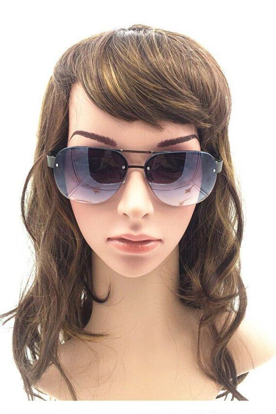 Ghope 2015 New Fashion Female Big Frame Driving Sunglasses Classic Frog Mirror ...