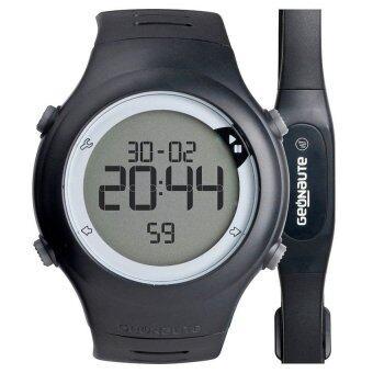นาฬิกาวัดชีพจร Heart Rate/วัดอัตราการเต้นของหัวใจ รุ่น ONRHYTHM 110 พร้อมสายรัดหน้าอก (สีดำ)