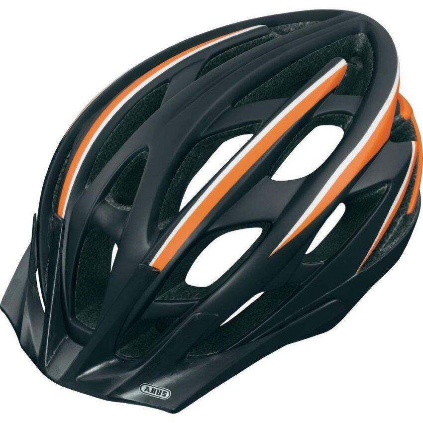 HELMET ABUS S-FORCE PRO SIZE-L - BLACK/ORANGE (137167)