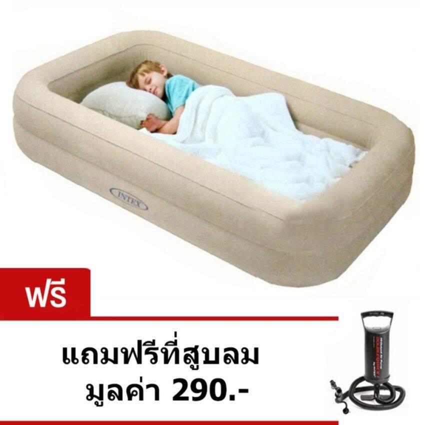 ที่นอนปิคนิค ที่นอนสนาม Intex ที่นอนเป่าลมสำหรับเด็ก intex 66810