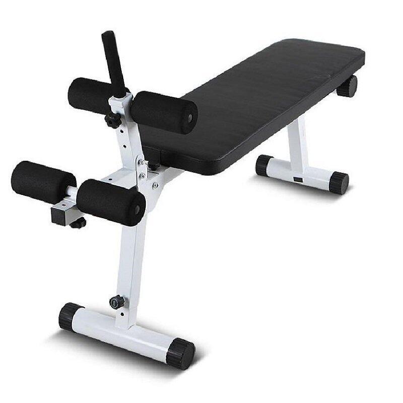 อุปกรณ์ออกกำลังกายKF-FIT เก้าอี้ดัมเบล,ซิทอัพ รุ่นใหญ่ AND-603 EXTRA (เหล็กขาว)