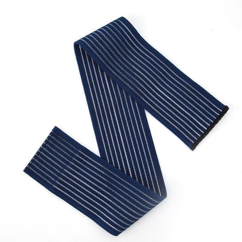 LALANG 180cm Elastic Bandage Tape Sport Knee Pad Elbow Wrist Ankle Leg Protector Band (Navy Blue)