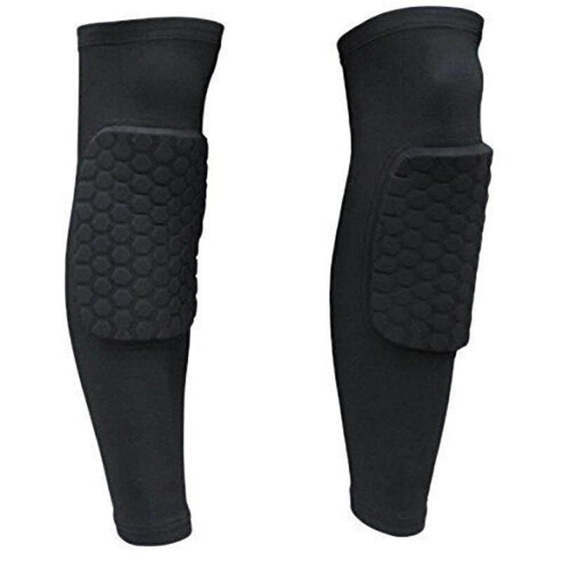 LALANG Outdoor Sports Kneepad Brace Supplies Non-slip Breathable Leggings XL (Black)