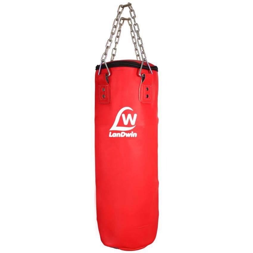 LANDWIN กระสอบ หนัง เด็ก แลนด์วิน Punching Bag PU 2 Lining 36x70cm. LW897J (มี3สี) ไม่อั ...