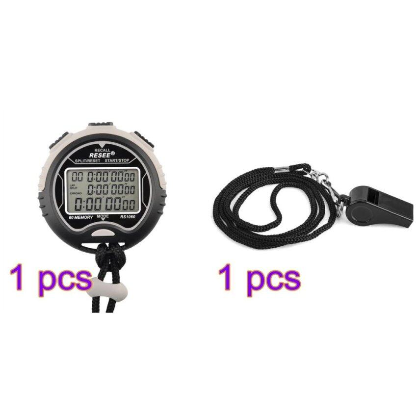 LT365 Multi-function Waterproof Electronic Digital Chronograph Time Stopwatch Timer with ...