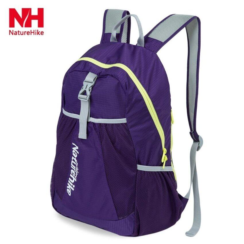 MiniCar Naturehike Unisex Portable Ultralight Water Resistance Outdoor Hiking Backpack(Color:Purple) - intl