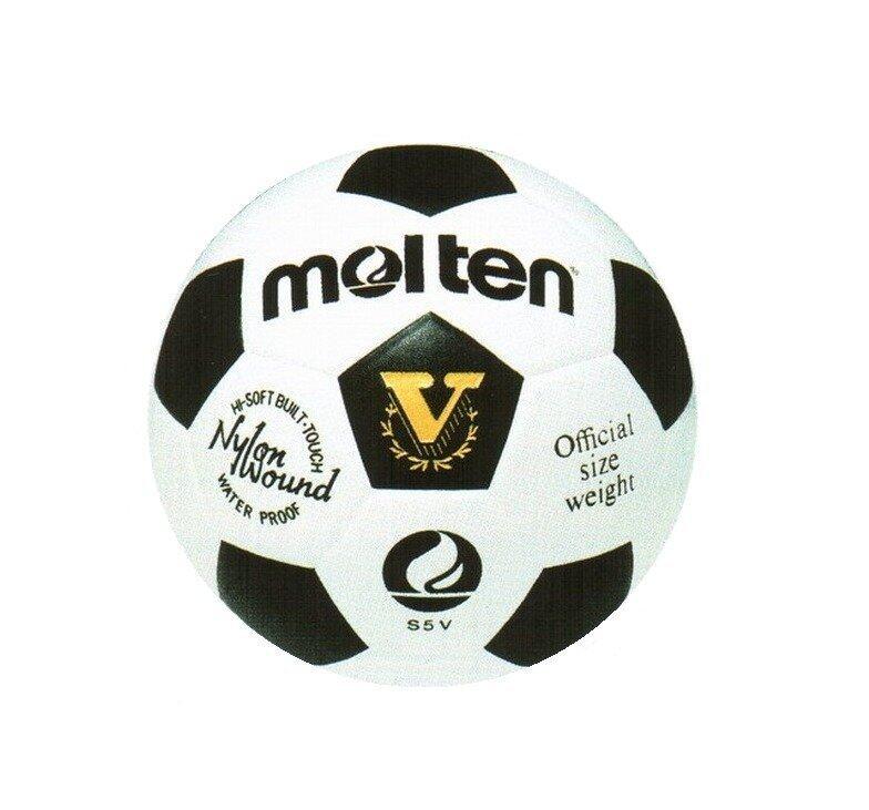 Molten Football MOT PVC รุ่น S5V - White/Black ...