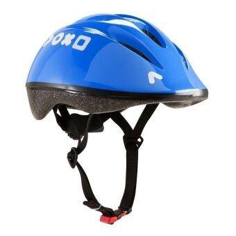 MSPORT หมวกจักรยาน หมวกกันน็อคเด็ก รุ่น Helmet300 (สีน้ำเงิน)