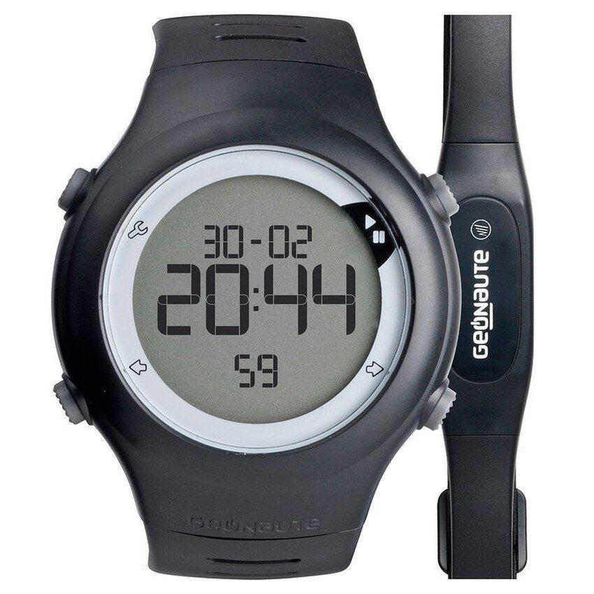 แนะนำ นาฬิกาวัดชีพจร Heart Rate/วัดอัตราการเต้นของหัวใจ รุ่น ONRHYTHM 110พร้อมสายรัดหน้าอก (สีดำ) ลดราคา