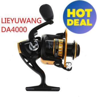 NBS DA1000-7000 9 Bearings Metel Fishing Spinning Reel 5.5 : 1 GearRatio Fishing Reel(DA4000)