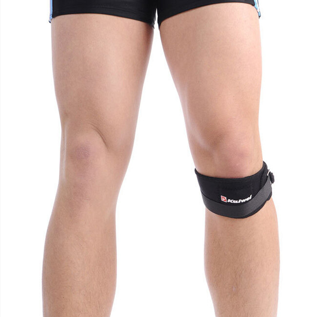 New Adjustable Patella Tendon Knee Brace Support Wrap Protector Strap