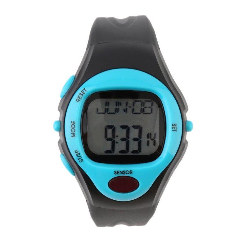 แนะนำ OH Infrared Digital HeartRate Monitor Watch Pulse Meter SportCalorie Tester Blue ลดราคา