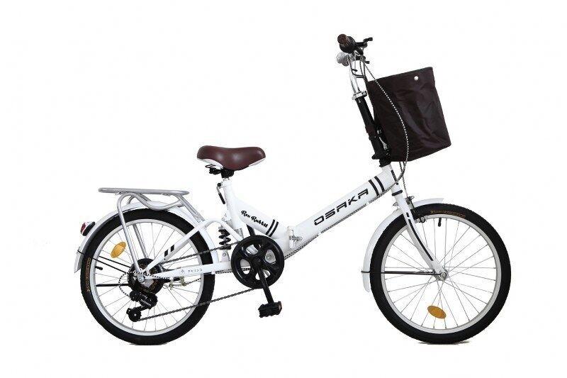 แนะนำ OSAKA จักรยานพับรุ่น Rex Rabbit Edition สีขาว สินค้าราคาประหยัด