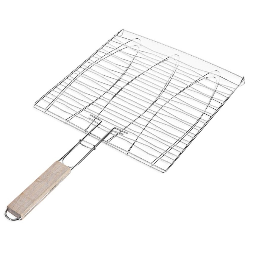 Outdoor Fish Grill Barbecue Tool Mesh (#01) ...