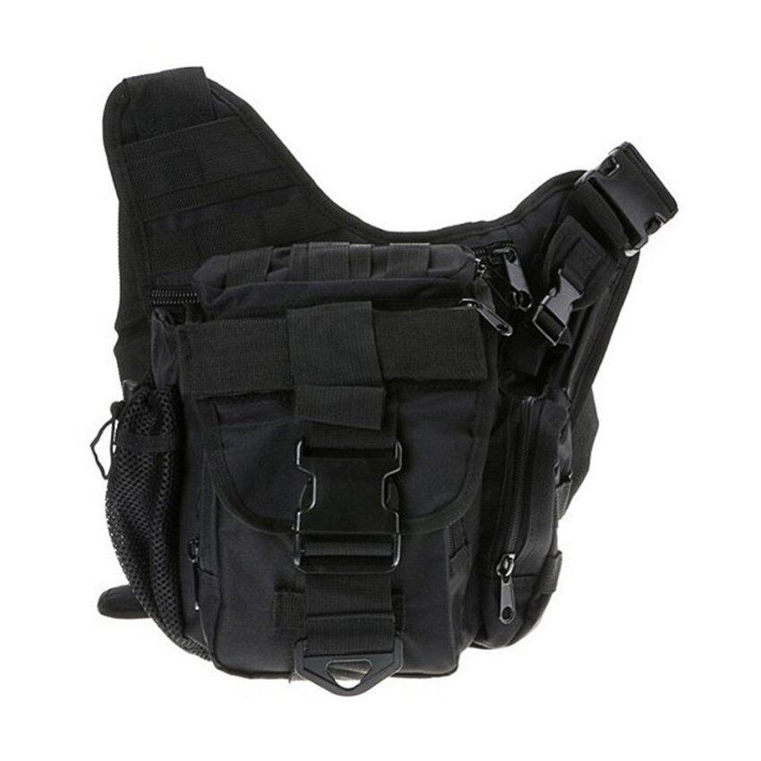 Outdoor Sport Camping Trekking Bag Military Tactical Backpack Sport Bag Pouch - intl