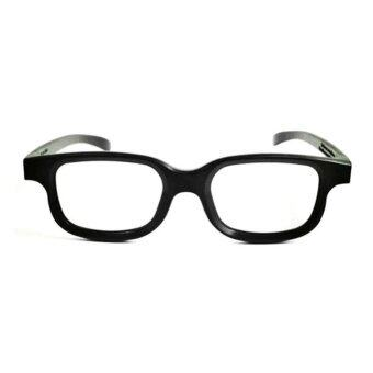 Polarized 3D Glasses Black Movie DVD LCD Video Game Theatre Circular
