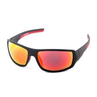 Polarized Sunglasses For Sports Coating Film Outdoor UV 400 Sun Glasses (Red)