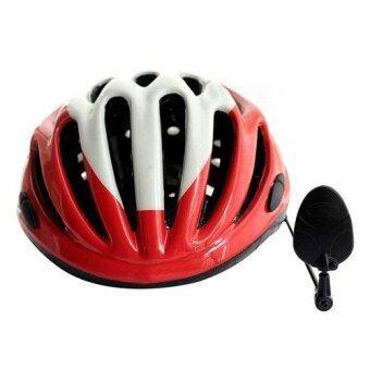 กระจกติดหมวกจักรยาน เพื่อความปลอดภัยในการขับขี่ (สีดำ)