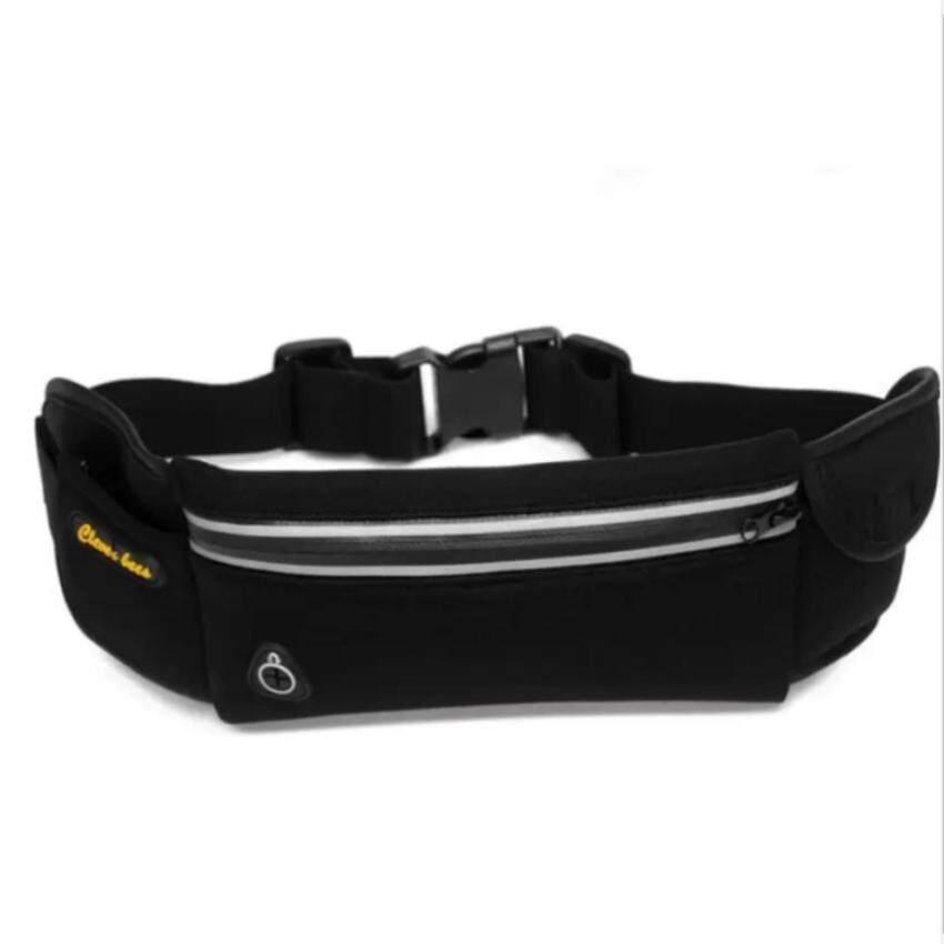 กระเป๋ากีฬาแบบคาดเอวใส่โทรศัพท์มือถือกันน้ำได้(