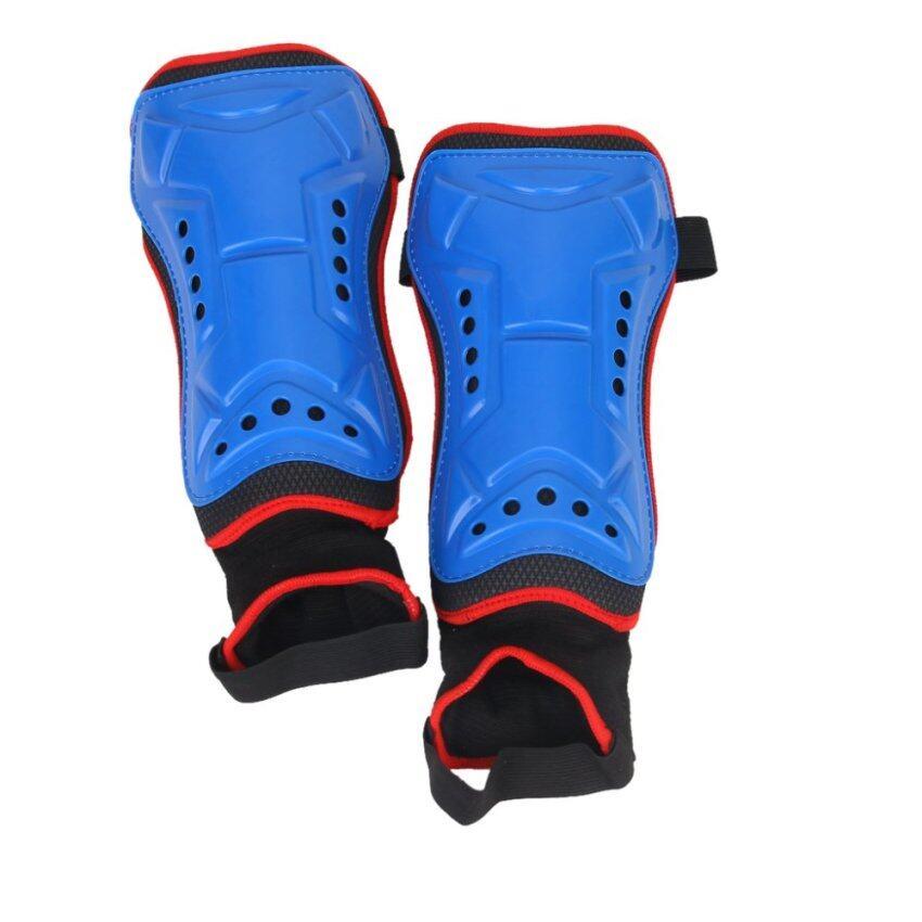 คู่สีน้ำเงิน Shinpads ฟุตบอลด้วยเท้าถุงเท้า ...