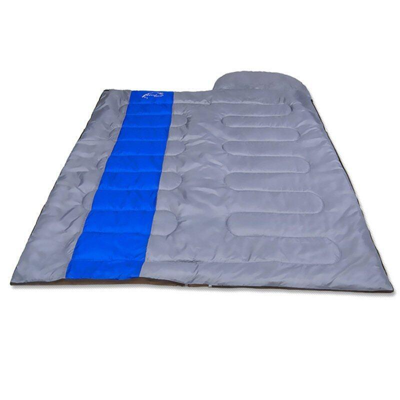 Sleeping Bag ถุงนอน ถุงนอนกันหนาว Windtour 1000g (สีน้ำเงิน)