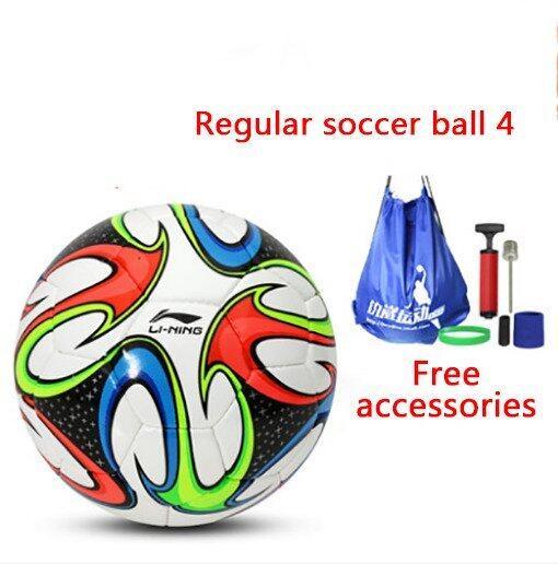 Soccer Football Regular soccer ball 4 PU hand sewn football Training football Indoor soccer Outdoor soccer - Intl