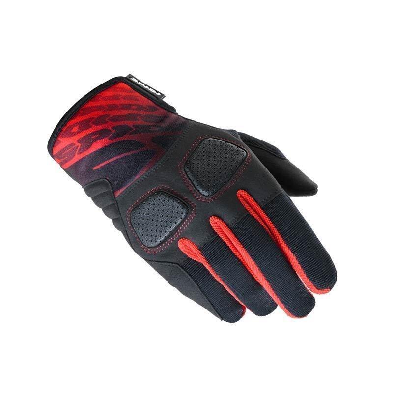 Spidi ถุงมือ SPIDI ACID GLOVE BLACK/RED