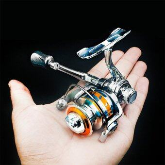 Spinning Fishing Reel Left Right Interchangeable Collapsible Handlewith two Bearings - intl