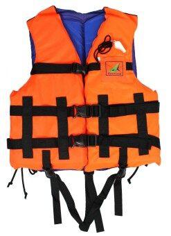 Sportland เสื้อชูชีพ ดำน้ำ ว่ายน้ำผู้ใหญ่ พร้อมนกหวีด เบอร์ L รุ่น Spl 00