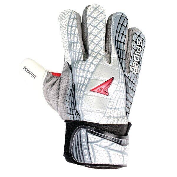 SPORTLAND Spider Goal Keeper Gloves No.8 - White/Black ...