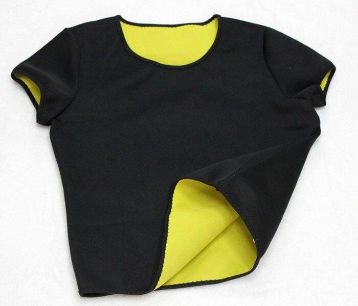 เสื้อ T-shirt เสื้อเรียกเหงื่อ ชุดออกกำลังกาย เสื้อกีฬา ออกกําลังกาย ลดน้ําหนัก ลดความอ้ ...