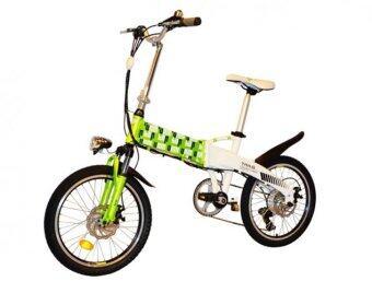 TAILG จักรยานไฟฟ้าพับได้ รุ่น Joy TG-TDN136Z ขนาดล้อ 20 นิ้ว (Green/White)