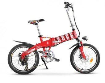 TAILG จักรยานไฟฟ้าพับได้ รุ่น Joy TG-TDN136Z ขนาดล้อ 20 นิ้ว (Red)