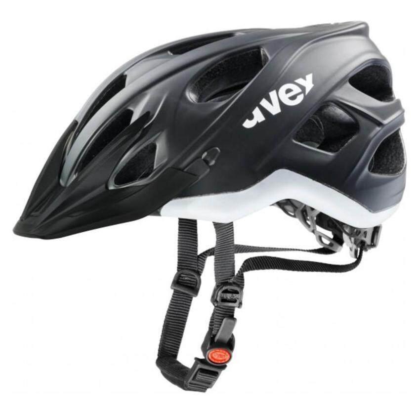 หมวกจักรยาน Uvex Helmet Stivo CC Black White Size 52-57 ...