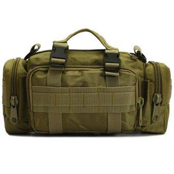 กระเป๋าคาดเอว Waist Bag 3 in 1 (สีเขียว)