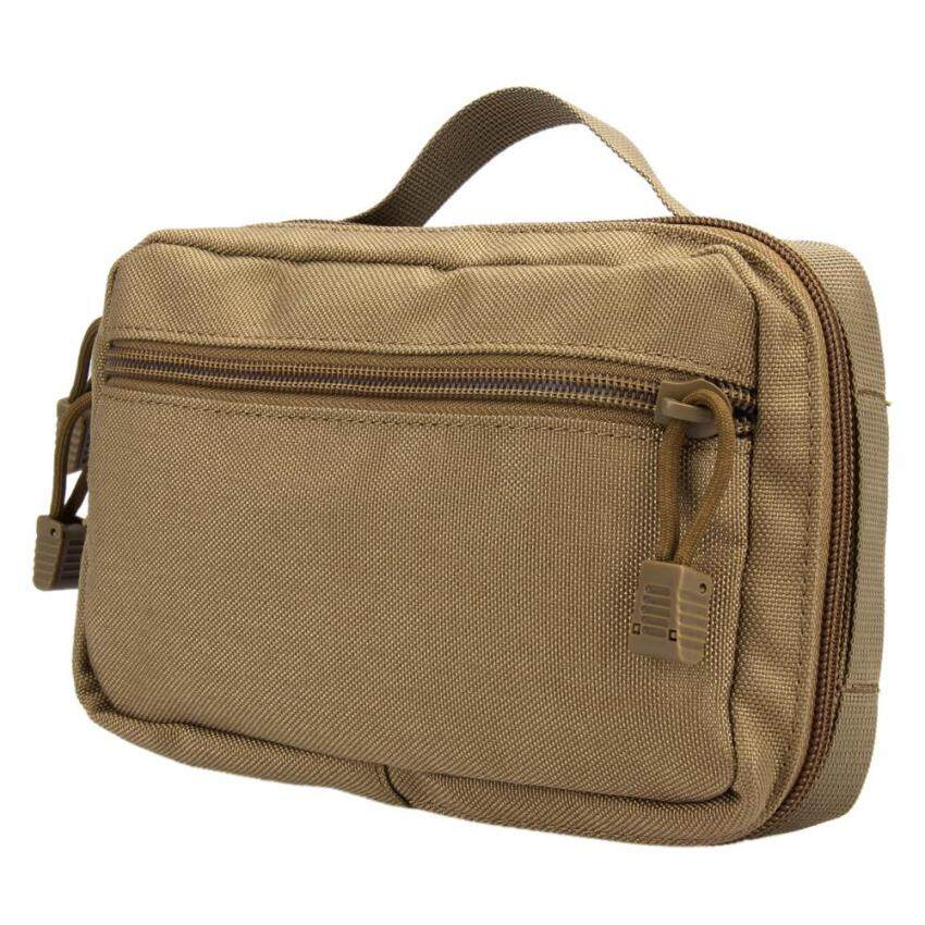 Waterproof Tactical Bag Waist Pack Camping Military Army Pouch(Earth) - intl
