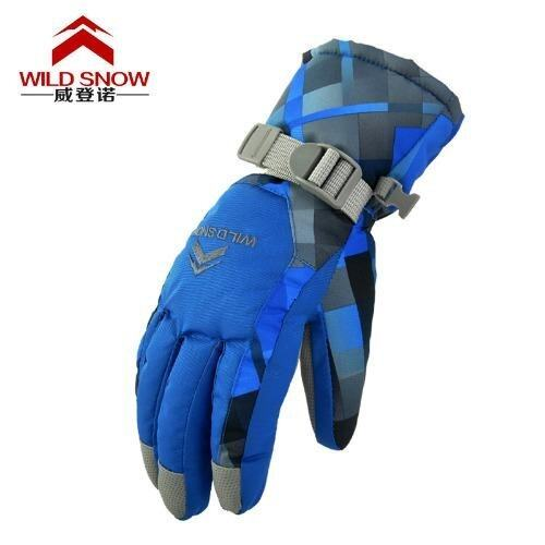 Winter Windproof Waterproof Anti-slip Thermal Warm Ski Camping Gloves Winter Glove - int ...
