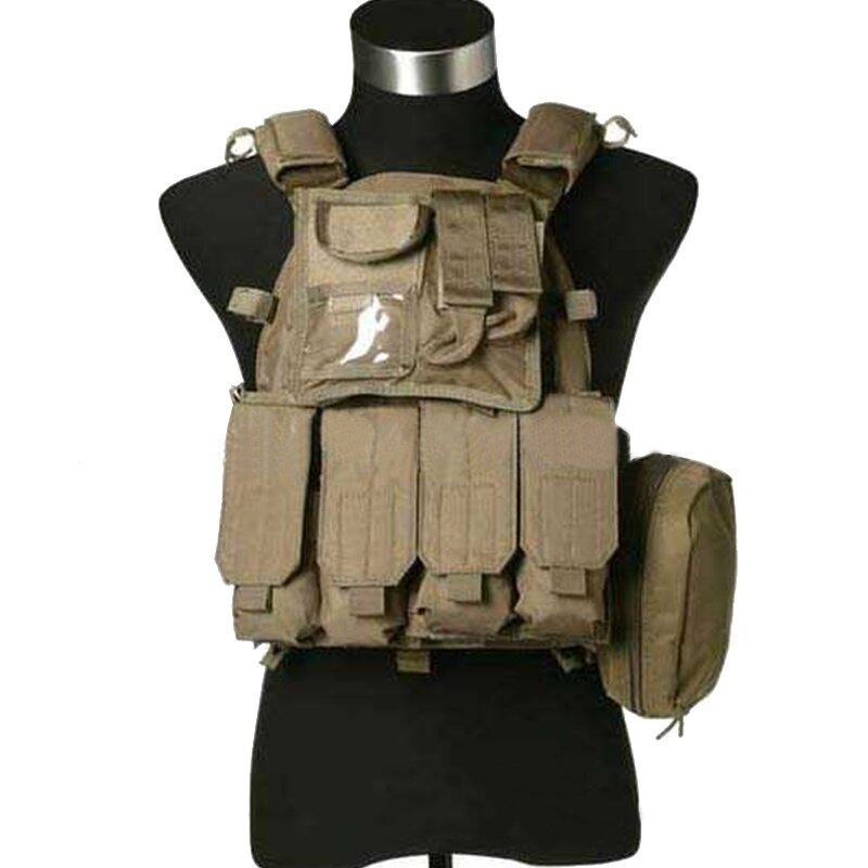 Wolf Slaves Tactical VT089 Combat Vest Best Wargame Vest TAN